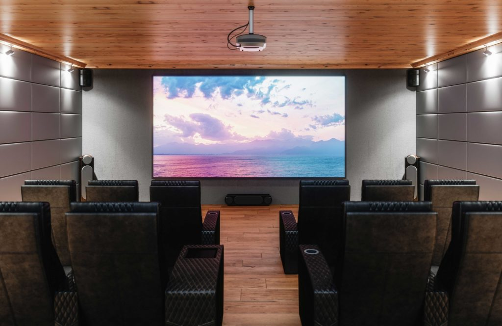 Select your ideal projector screen size