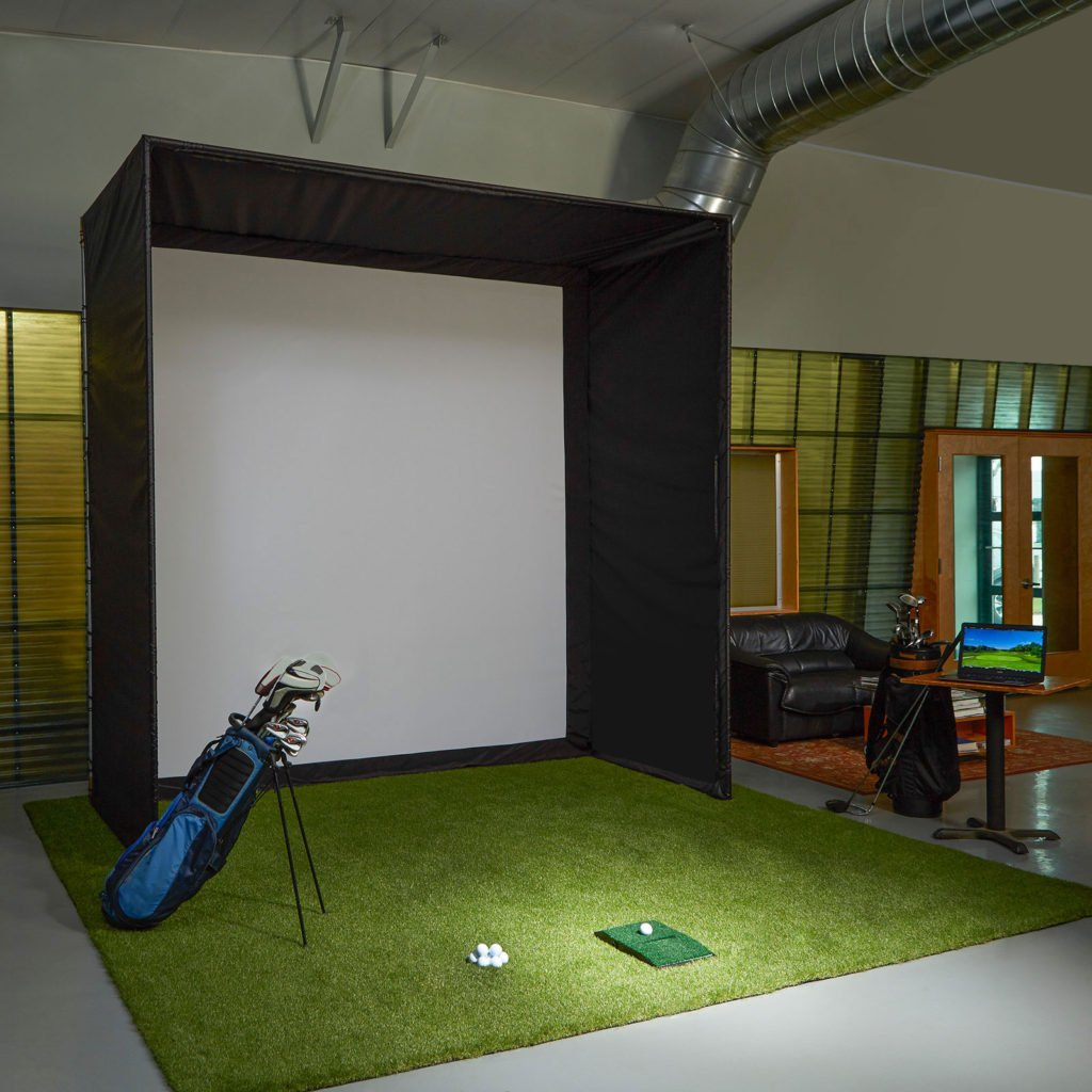 Carl's DIY Golf Enclosure + Preferred Impact Screen 13ft x 7.7ft