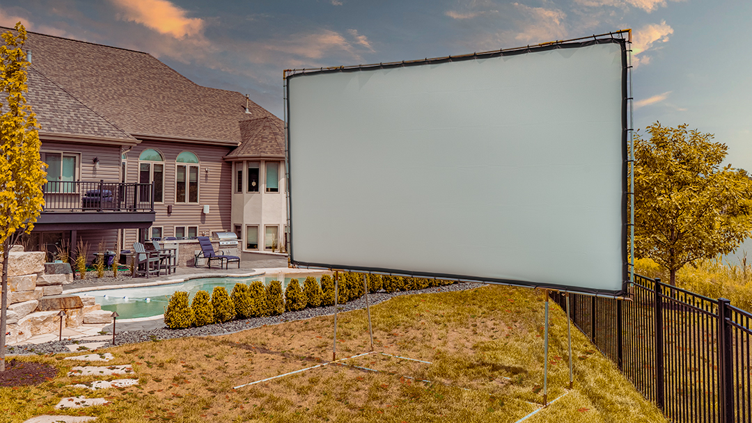 Backyard Theater in Winter | Turn your Backyard into the Hottest Venue