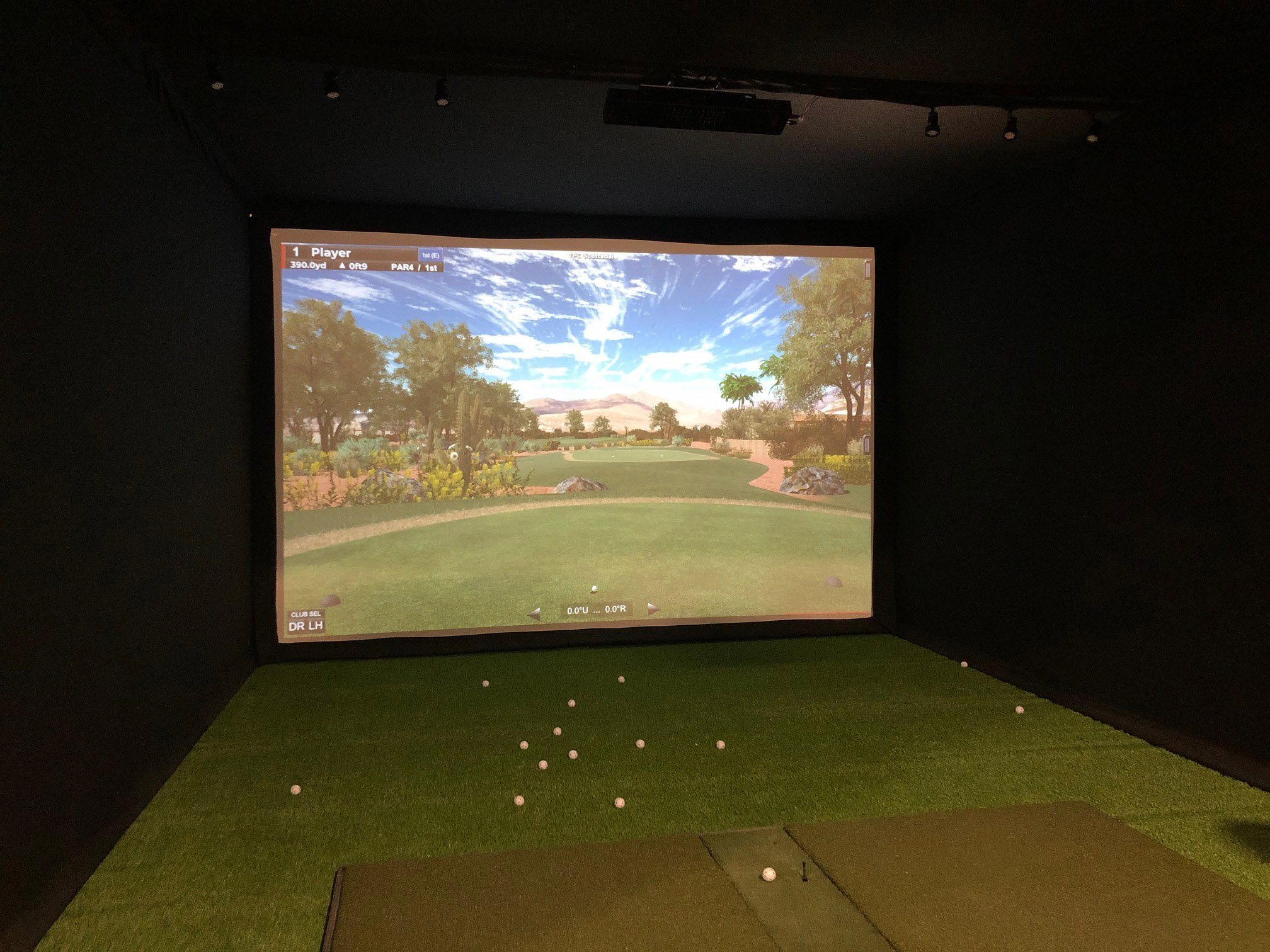 How to Choose the Best Golf Simulator Enclosure Size